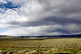 USA, Wyoming, Encampment, wide open prairie landscape, Big Creek Ranch