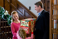 I'll Be Home for Christmas (2016)<br /> Mena Suvari &amp; Jacob Blair<br /> *Filmstill - Editorial Use Only*<br /> CAP/KFS<br /> Image supplied by Capital Pictures