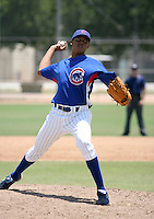 Julio Pena / AZL Cubs..Photo by:  Bill Mitchell/Four Seam Images
