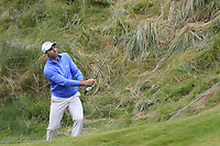 Oliver Wilson (ENG) chips onto the 15th green during Saturday's Round 3 of the Dubai Duty Free Irish Open 2019, held at Lahinch Golf Club, Lahinch, Ireland. 6th July 2019.<br /> Picture: Eoin Clarke | Golffile<br /> <br /> <br /> All photos usage must carry mandatory copyright credit (© Golffile | Eoin Clarke)