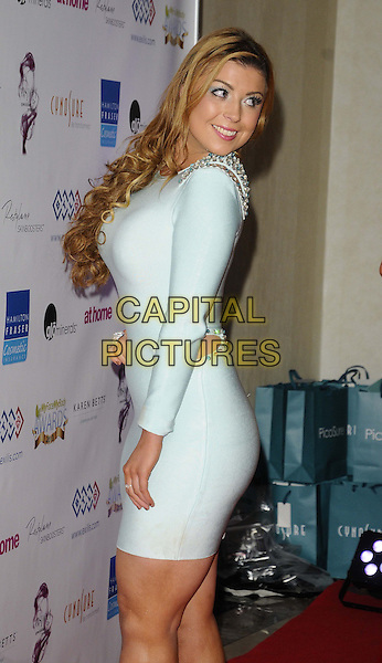 LONDON, ENGLAND - NOVEMBER 02: Abi Clarke attends the MyFaceMyBody Awards 2013, Lancaster Hotel, Lancaster Terrace, on Saturday November 02, 2013 in London, England, UK.<br /> CAP/CAN<br /> &copy;Can Nguyen/Capital Pictures