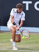 Netherlands, Rosmalen , June 10, 2015, Tennis, Topshelf Open, Autotron, Robin Haase (NED)<br /> Photo: Tennisimages/Henk Koster