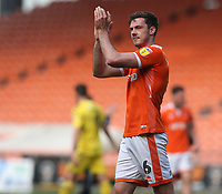 Blackpool's Ben Heneghan applauds the fans at the final whistle <br /> <br /> Photographer Stephen White/CameraSport<br /> <br /> The EFL Sky Bet League One - Blackpool v Fleetwood Town - Monday 22nd April 2019 - Bloomfield Road - Blackpool<br /> <br /> World Copyright © 2019 CameraSport. All rights reserved. 43 Linden Ave. Countesthorpe. Leicester. England. LE8 5PG - Tel: +44 (0) 116 277 4147 - admin@camerasport.com - www.camerasport.com<br /> <br /> Photographer Stephen White/CameraSport<br /> <br /> The EFL Sky Bet Championship - Preston North End v Ipswich Town - Friday 19th April 2019 - Deepdale Stadium - Preston<br /> <br /> World Copyright © 2019 CameraSport. All rights reserved. 43 Linden Ave. Countesthorpe. Leicester. England. LE8 5PG - Tel: +44 (0) 116 277 4147 - admin@camerasport.com - www.camerasport.com