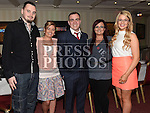 Luke Healy celebrating his 21st birthday in the Pheasent with cousins Emma, Jesse and Leanne Moore and Luke Gorman. Photo:Colin Bell/pressphotos.ie