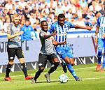 12.05.2018, OLympiastadion, Berlin, GER, 1.FBL, Hertha BSC VS. RB Leipzig, im Bild <br /> Salomon Kalou  (Hertha BSC Berlin #8), Naby Keita (RB Leipzig #8)<br /> <br /> <br />       <br /> Foto &copy; nordphoto / Engler