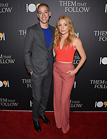 "30 July 2019 - Los Angeles, California - Dan Madison Savage, Britt Poulton. ""Them That Follow"" Los Angeles Premiere held at the Landmark Theatre. Photo Credit: Billy Bennight/AdMedia"