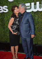 LOS ANGELES, CA. August 10, 2016: CBS TV boss Leslie Moonves &amp; wife TV presenter Julie Chen at the CBS &amp; Showtime Annual Summer TCA Party with the Stars at the Pacific Design Centre, West Hollywood. <br /> Picture: Paul Smith / Featureflash