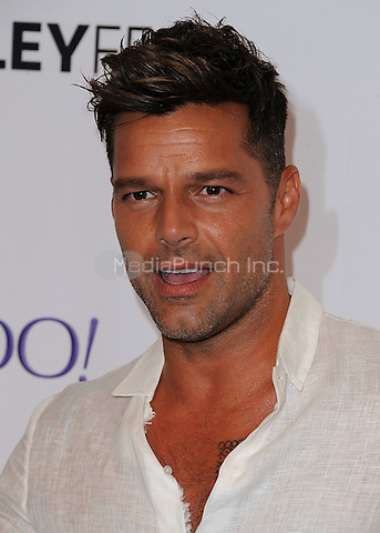 "BEVERLY HILLS, CA - SEPTEMBER 10: Ricky Martin at the 11th Annual PaleyFest Fall Preview of Univision's ""La Banda"" at the Paley Center for the Media on September 10, 2015 in Beverly Hills, California. Photo by SKPG/MediaPunch"