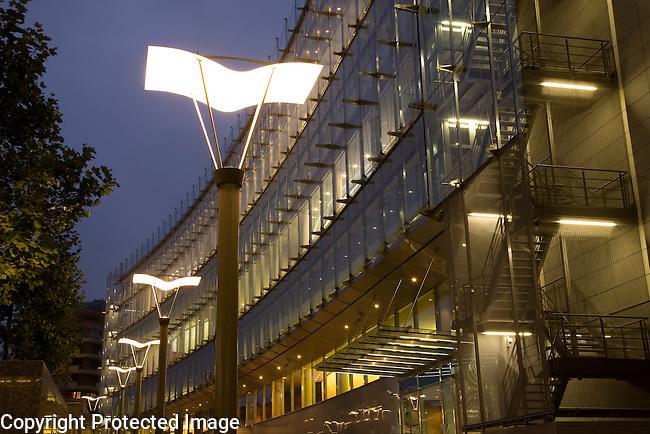 Jozsef Antall Building, European Parliament Complex, Brussels, Belgium, Europe