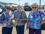 Lynn, Jackie and Dorothy during the Numaga Indian Days Pow Wow in Hungry Valley on Saturday, Sept. 1, 2018.