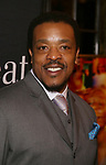 "Russell Hornsby attends the Broadway Production of  ""Sweat"" at studio 54 Theatre on March 26, 2017 in New York City"