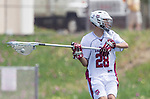 Torrance, CA 05/11/13 - Austin Birch (St Margarets #28) in action during the Harvard Westlake vs St Margarets 2013 Los Angeles / Orange County Championship game.  St Margaret defeated Harvard Westlake 15-8.