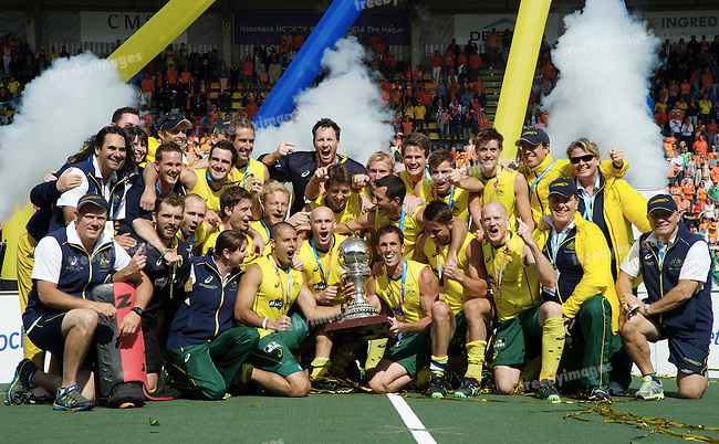 Hockey World Cup 2014<br /> The Hague, Netherlands <br /> Day 14 Men Final Australia v Netherlands<br /> <br /> <br /> Photo: Grant Treeby<br /> www.treebyimages.com.au