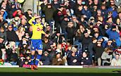 2nd February 2019, Turf Moor, Burnley, England; EPL Premier League football, Burnley versus Southampton; Matt Targett of Southampton shields his eyes from the sun