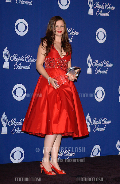 AMBER TAMBLYN at the 30th Annual People's Choice Awards in Pasadena, CA..January 11, 2004