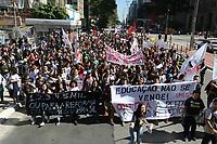 30.08.2018 - Protesto de estudantes contra a reforma do Ensino Médio em SP