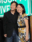 Ken Jeong and wife Tran at The Warner Bros. Pictures' L.A. Premiere of Due Date held at The Grauman's Chinese Theatre in Hollywood, California on October 28,2010                                                                               © 2010 Hollywood Press Agency