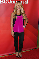 PASADENA, CA, USA - APRIL 08: Jenn Brown at the NBCUniversal Summer Press Day 2014 held at The Langham Huntington Hotel and Spa on April 8, 2014 in Pasadena, California, United States. (Photo by Xavier Collin/Celebrity Monitor)