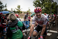 John Degenkolb (DEU/Trek-Segafredo) at the finish<br /> <br /> Stage 8: Valls to Igualada (167km)<br /> La Vuelta 2019<br /> <br /> ©kramon