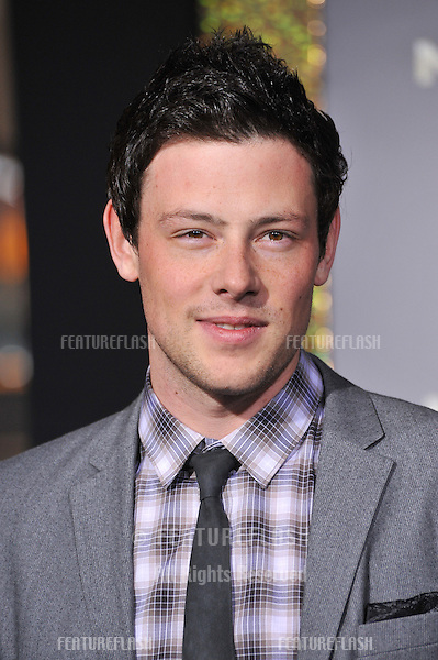 """Cory Monteith at the world premiere of """"New Year's Eve"""" at Grauman's Chinese Theatre, Hollywood..December 5, 2011  Los Angeles, CA.Picture: Paul Smith / Featureflash"""
