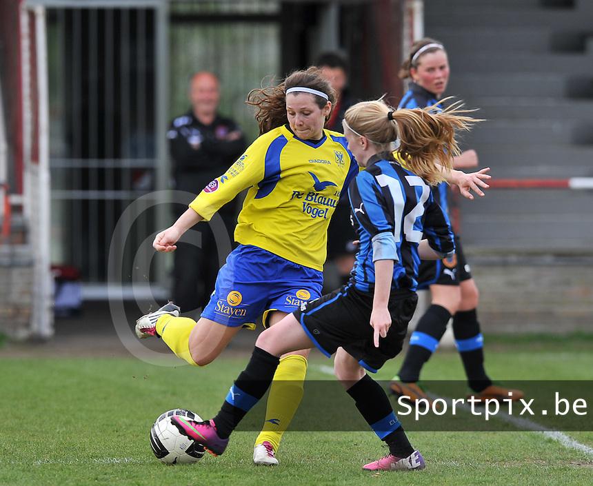 Club Brugge Dames - STVV Sint Truidense VV : Nathalie Weytjens.foto DAVID CATRY / Nikonpro.be