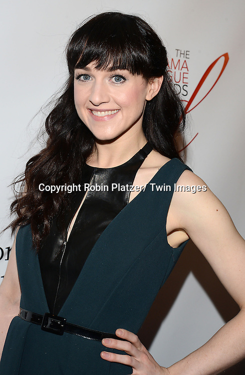 Lena Hall attends the 80th Annual Drama League Awards Ceremony and Luncheon on May 16, 2014 at the Marriot Marquis Hotel in New York City, New York, USA.