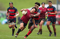 Top 4 Rugby Final, Kings College 1st XV v Hastings Boys High, Palmerston North, Massey University, Sunday 8 Septembert 2019. Photo: Simon Watts/www.bwmedia.co.nz