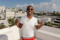 MIAMI BEACH, FL - OCTOBER 05: Lil Duval poses for a portrait during the Empire Records DJ party held at Skydeck on October 5, 2018 in Miami Beach, Florida. <br /> CAP/MPI04<br /> &copy;MPI04/Capital Pictures