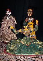 Indien, Jaipur (Rajasthan), Folklore im Samode Palast Hotel