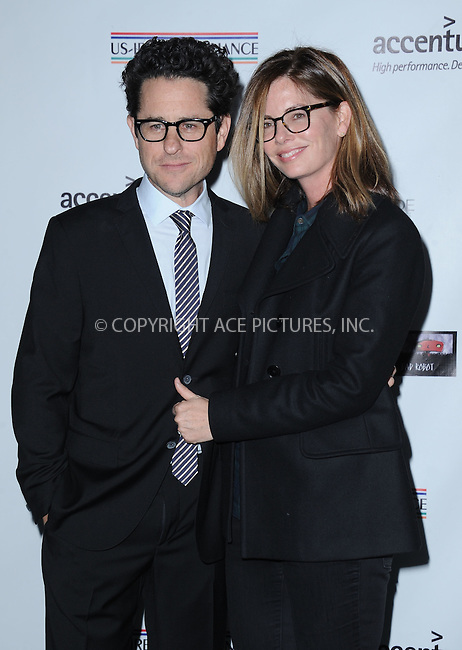 WWW.ACEPIXS.COM<br /> <br /> February 19 2015, LA<br /> <br /> Producer/director J.J. Abrams and actress Katie McGrath arriving at the US-Ireland Alliance Pre-Academy Awards event at Bad Robot on February 19, 2015 in Santa Monica, California. <br /> <br /> <br /> By Line: Peter West/ACE Pictures<br /> <br /> <br /> ACE Pictures, Inc.<br /> tel: 646 769 0430<br /> Email: info@acepixs.com<br /> www.acepixs.com