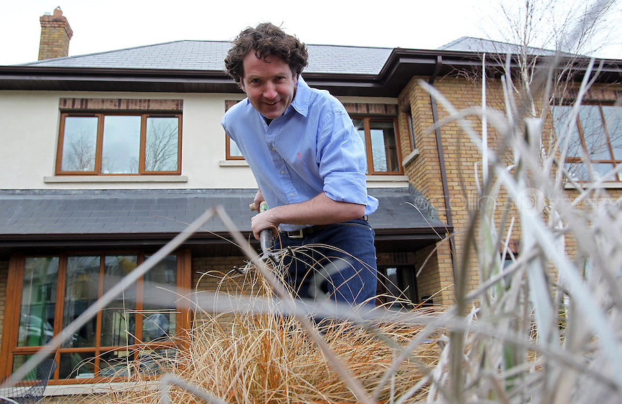 16/02/'11 Celebrity gardener, Diarmuid Gavin pictured at his home in Wicklow, Ireland ...Picture Colin Keegan, Collins, Dublin.
