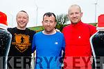 Danny Leane Jnr,Richard Mcbride and Alan Dolan at the Wilderness Challenge 'B Wildered' at Glanageenty Ballymacelligott on Saturday