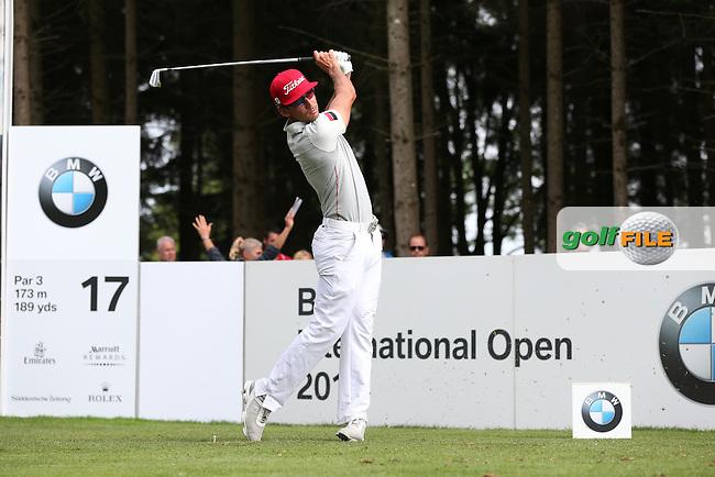 Rafa Cabrera-Bello (ESP) drives down the 17th during Round Three of the 2015 BMW International Open at Golfclub Munchen Eichenried, Eichenried, Munich, Germany. 27/06/2015. Picture David Lloyd | www.golffile.ie