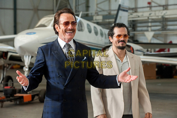 The Infiltrator (2016) <br /> Bryan Cranston stars as undercover U.S. Customs agent Robert Mazur and John Leguizamo as his partner Emir Abreu  <br /> *Filmstill - Editorial Use Only*<br /> CAP/KFS<br /> Image supplied by Capital Pictures