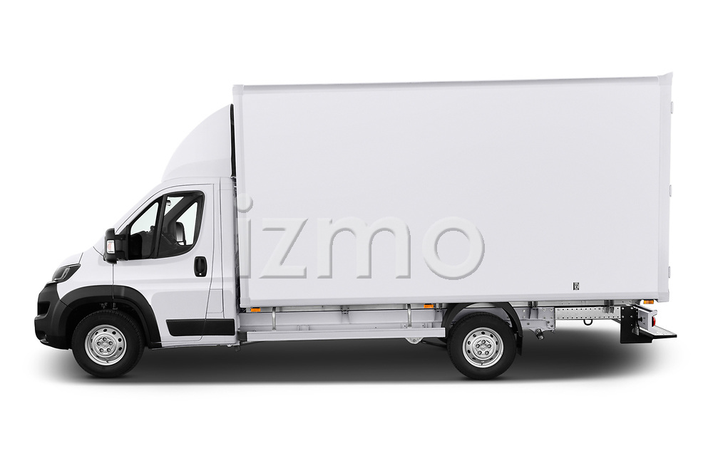 Car Driver side profile view of a 2019 Peugeot Boxer - 2 Door Parcel Van Side View