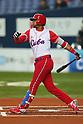 Yulieski Gourriel (CUB), .February 27, 2013 - WBC : .2013 World Baseball Classic, Exhibithion Game .match between Cuba 3-2 Hanshin Tigers .at Kyocera Dome, Osaka, Japan..(Photo by AJPS/AFLO SPORT) [1045]