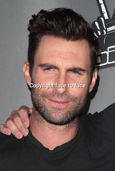 WEST HOLLYWOOD, CA - MAY 08: Adam Levine at NBC's 'The Voice' Season 4 Event at the House of Blues Sunset Strip on May 8, 2013 in West Hollywood, California..Credit: MediaPunch/face to face..- Germany, Austria, Switzerland, Eastern Europe, Australia, UK, USA, Taiwan, Singapore, China, Malaysia, Thailand, Sweden, Estonia, Latvia and Lithuania rights only -
