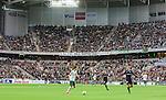 Stockholm 2015-10-25 Fotboll Allsvenskan Hammarby IF - Malm&ouml; FF :  <br /> Vy &ouml;ver Tele2 Arena med publik p&aring; l&auml;ktarna under matchen mellan Hammarby IF och Malm&ouml; FF <br /> (Foto: Kenta J&ouml;nsson) Nyckelord:  Fotboll Allsvenskan Tele2 Arena Hammarby HIF Bajen Malm&ouml; FF MFF supporter fans publik supporters inomhus interi&ouml;r interior
