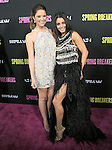 Vanessa Hudgens and Ashley Benson at The L.A. Premiere of Spring Breakers held at The Arclight Theater in Hollywood, California on March 14,2013                                                                   Copyright 2013 Hollywood Press Agency