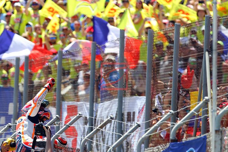 Gran Premi Monster Energy de Catalunya 2017.<br /> Moto GP Race.<br /> Marc Marquez.