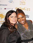 Marcia Gay Hardin & Deborah Koenigsberger - Hearts of Gold All That Glitters 25th Anniversary VIP Reception and Live Auction celebrating 25 years of support to New York City's homeless mothers and their children on November 7, 2019 at the 40/40 Club, New York City, New York.(Photo by Sue Coflin/Max Photos)