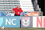 16 April 2016: Ottawa Fury owner and president John Pugh. The Carolina RailHawks hosted Ottawa Fury FC at WakeMed Stadium in Cary, North Carolina in a 2016 North American Soccer League Spring Season game. Carolina won the match 1-0.