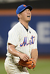 Daisuke Matsuzaka (Mets),<br /> AUGUST 28, 2013 - MLB :<br /> Pitcher Daisuke Matsuzaka of the New York Mets reacts during the Major League Baseball game against the Philadelphia Phillies at Citi Field in Flushing, New York, United States. (Photo by AFLO)