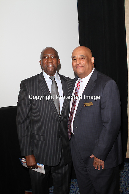 Lloyd Williams and Marriott Hotels & Resorts' Senior Sales Executive Rob Simons Attend The Greater Harlem Chamber of Commerce and its media partners WBLS-FM and New York Amsterdam News presents: New York City Tourism 2013, Hosted by NYC & CO, Marriott, Harlem Arts Alliance and I LOVE NY Held at the Marriott Marquis Hotel, NY