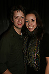 General Hospital's Bradford Anderson poses with his girlfriend Kiera at the Brokerage Comedy Club on February 21, 2009 in Bellmore, New York to see their fans as they sign and pose for photos, do a show for the fans and Bradford plays Simon Says with his fans. ALSO Bradford sang for all and he was great. (Photo by Sue Coflin/Max Photos)