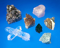 QUARTZ COLOR VARIETIES - SiO2<br />