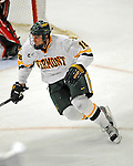 19 January 2008: University of Vermont Catamounts' forward Viktor Stalberg, a Sophomore from Gothenburg, Sweden, in action against the Northeastern University Huskies at Gutterson Fieldhouse in Burlington, Vermont. The Catamounts defeated the Huskies 5-2 to close out their 2-game weekend series...Mandatory Photo Credit: Ed Wolfstein Photo