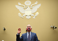 Dr. Anthony Fauci, director of the National Institute for Allergy and Infectious Diseases, is sworn in before a House Subcommittee on the Coronavirus Crisis hearing on a national plan to contain the COVID-19 pandemic, on Capitol Hill in Washington, DC on Friday, July 31, 2020. <br /> Credit: Kevin Dietsch / Pool via CNP /MediaPunch