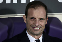 Calcio, Serie A: Fiorentina - Juventus, stadio Artemio Franchi Firenze 1 dicembre 2018.<br /> Juventus' coach Massimiliano Allegri looks on prior to the Italian Serie A football match between Fiorentina and Juventus at Florence's Artemio Franchi stadium, December 1, 2018.<br /> UPDATE IMAGES PRESS/Isabella Bonotto