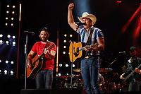 07 June 2019 - Nashville, Tennessee - Thomas Rhett. Jon Pardi.. 2019 CMA Music Fest Nightly Concert held at Nissan Stadium. Photo Credit: Frederick Breedon/AdMedia